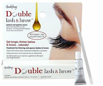 Godefroy Double Lash and Brow Treatment, for longer & thicker eyelash and 3ml +