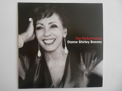 ⌂ CD Album ⌂ DAME SHIRLEY BASSEY : THE PERFORMANCE OF THE LIFE (PET SHOP BOYS)