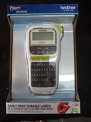 Brother P-Touch PT-H110 Label Maker Labeler - LCD Display - BRAND NEW BULK PACK