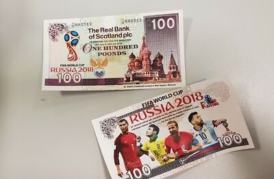"Special edition"" Harry Kane"" World Cup Russia 2018 novelty banknote"