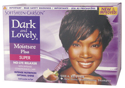 Dark & Lovely Moisture Plus Relaxer Kit Super