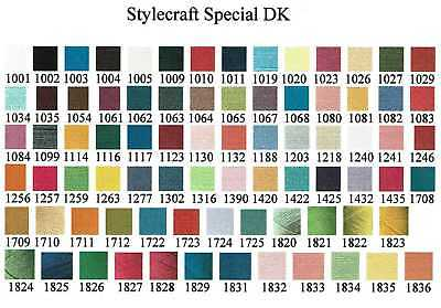 Stylecraft Special DK Yarn Double Knitting 100g Acrylic Wool MAX £2.80 POSTAGE