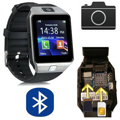 DZ09 SIM Reloj Inteligente Smart Watch para Android Samsung IOS Cámara Bluetooth