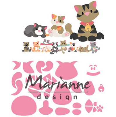 Marianne D Collectable Eline`s kitten COL1454 118x91 mm 381454