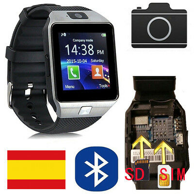 DZ09 Reloj Inteligente Smart Watch Bluetooth Para Samsung Android IOS WhatsAPP