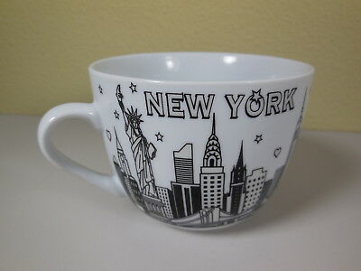 New York Skyline Jay Joshua Ny Coffee Cup Mug Soup Bowl
