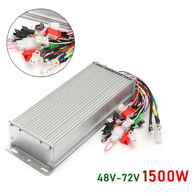48-72V 1500W Elec Bicycle E-bike Scooter Brushless DC Motor Speed Controller Hot