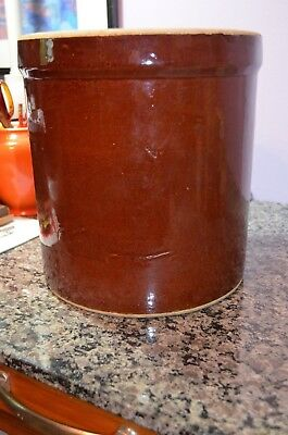 Vintage 3 Gallon Robinson Ransbottom Pottery (RRP) Crown Stoneware Crock