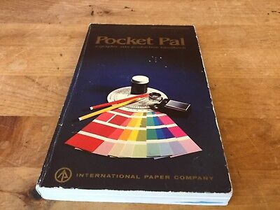 Vintage Pocket Pal A Graphic Arts Production Handbook. 50Th Anniversary Edition
