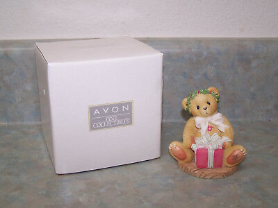 """Cherished Teddies * Margy """"I'm Wrapping Up A Little Holiday..."""" - Avon Exclusive"""