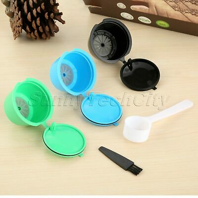 3Pcs Filter For Nescafe Dolce Gusto 3 Color Refillable Coffee Capsules i Cafilas
