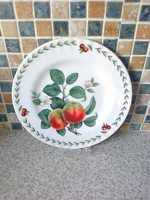 Roy Kirkham 20.5 Cm Plate Redoute Fruit Design Apples, Blossom & Cherries