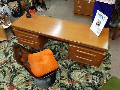 G Plan desk dressing table and Mirror MCM Midcentury Teak Retro Vintage