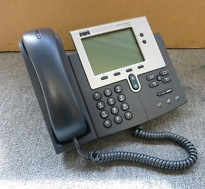 CISCO 7940 SIP Latest Firmware Unified IP VoIP Phone CP-7940G Asterisk PBX  PoE