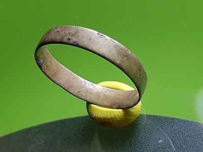 Medieval Bronze Wadding Band Ring  !!