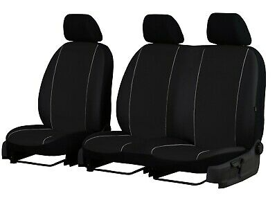ECO LEATHER VAN UNIVERSAL SEAT COVERS forRENAULT MASTER 2 + 1
