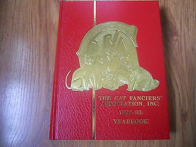 The Cat Fanciers Association  1992-1993 Yearbook     Hc