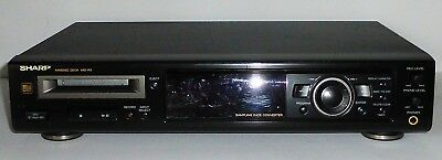 MD Player/Recorder Sharp MD-R2 schwarz Minidisc Deck 1 Jahr Garantie