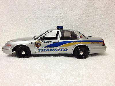 1/18 Puerto Rico Police TRÁNSITO. /// DECAL SET ONLY /// DECAL SET ONLY ///..