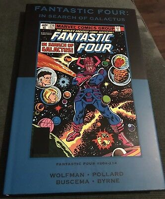 Marvel Premiere Classic Hardcover Vol. 39 Fantastic Four In Search of Galactus