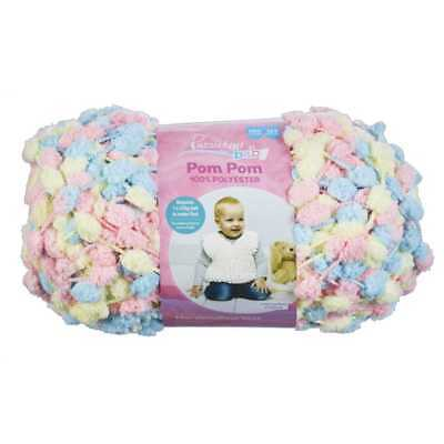 NEW Passioknit Baby Pom Pom Yarn 250 g By Spotlight