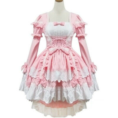 Japanese Cute Lolita Uniforms Women Girls Cosplay Costumes Stage Costumes Suits