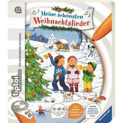 Ravensburger TIPTOI Book Mean Beautiful Christmas Carols Children's Liederbuch