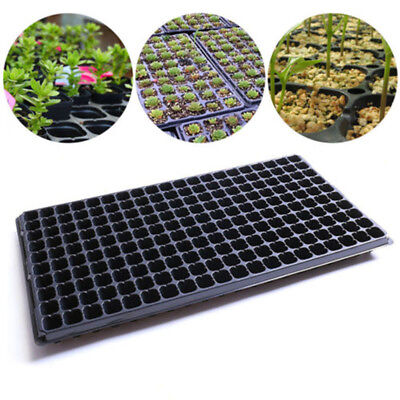 Home 200 Cell Seedling Starter Planting Tray Seed Germination Plant Propagation