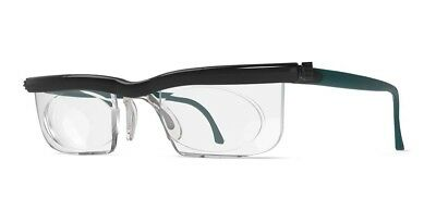 Adlens ViewPlus Adjustable Black/Teal Unisex Variable Focus Eyewear
