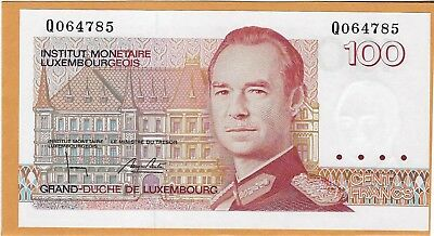 Luxembourg, ND (1986-1993) 100 Francs P58b ((Unc))