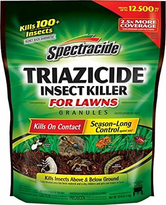 Spectracide Triazicide Insect Killer For Lawns Granules, 10 lb. 1-PK