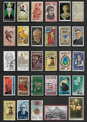 SOUTH AFRICA mixed collection No.39, decimal, used