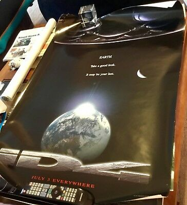 INDEPENDENCE DAY ID4 27x40 ORIGINAL S/S MOVIE POSTER