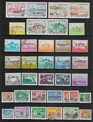 HUNGARY mixed collection No.51, used