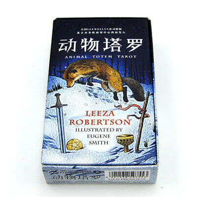 Animal Totem Tarot Deck 78 Cards Set Waite Rider Card Fortune Telling Oracle New