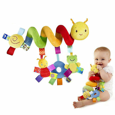 Infant Animal Rattles Toy Baby Toys Infant Stroller Bed Cot Crib Hanging Doll