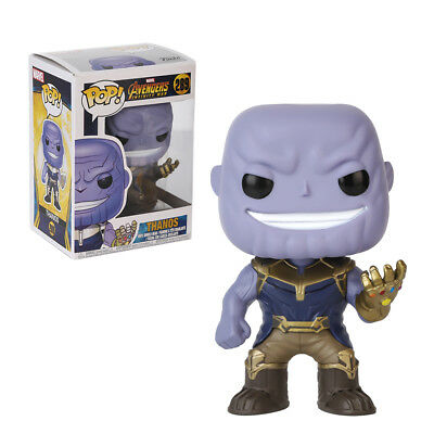 Funko POP The Avengers Infinity War Thanos Vinyl Figure Toy Kid Gift Box New