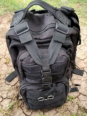 Medical backpack (loaded) EMT/paramedic bag, Survival gear. Now w/ Ambu &Extras