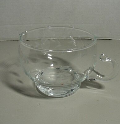 Princess House Heritage Collection Pattern Crystal Creamer Excellent