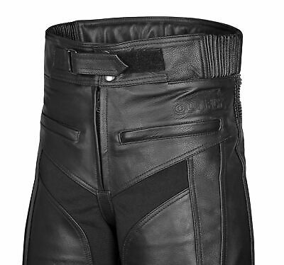 Mens  Leather Motorcycle Trousers  With CE Armour- New Year Special Offer Price