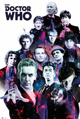 Doctor Who Group BBC Series Tardis Maxi Poster Print 61x91.5cm24x36 inches