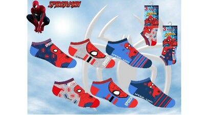 Pariscarpa-Fantasmini-Sneakers Bambino Spiderman Marvel - Calzini 3Pz Super Eroi
