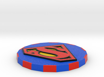 Superman Poker Chip Card Cover