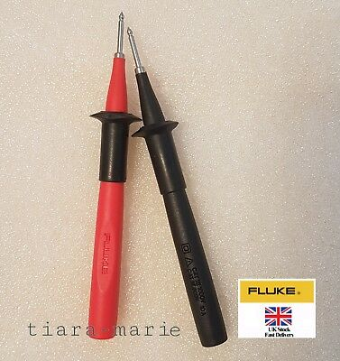 Fluke Test probes red/black, 2 mm TP2-1 TP2