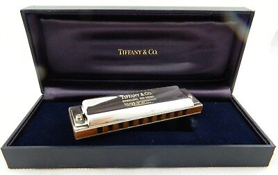 ** Fine Vintage Tiffany & Co. Sterling Silver Hohner Germany Harmonica **