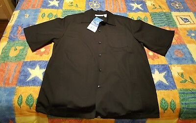 CHEF WORKS Men's Chef Shirt Size Medium Cool Vent Collection New Tags