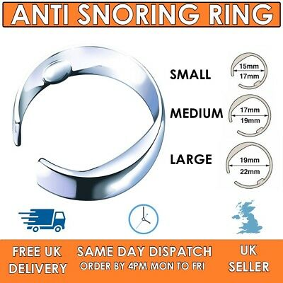 Anti Snore - Stop Snoring Accupresure Ring -  S, M and Large size - Adjustable