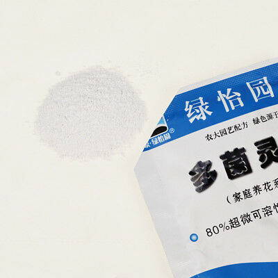 10g/Pack Carbendazim Efficient Bactericide 80% Wettable Powder Flower Plant Care
