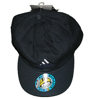 de61541156e JUNIOR ADIDAS GREY Baseball Cap Sun Hat 3 Stripe Logo Vintage Style Kids -  £7.49