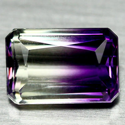 21.23 Ct Aaa! Purple & Yellow Bolivia Ametrine Octagon